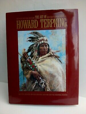 The Art of Howard Terpning with text by Elmer Kelton. 1992. Native American art