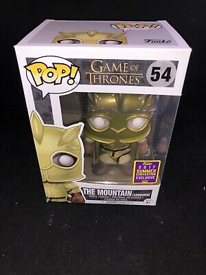 Funko Pop! Game Of Thrones The Mountain Armored #54 Sdcc