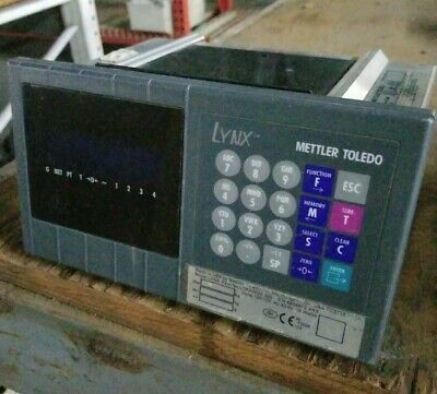 Mettler Toledo Lynx Fact # LTPA0020 000 Digital Scale Indicator Readout - Tested
