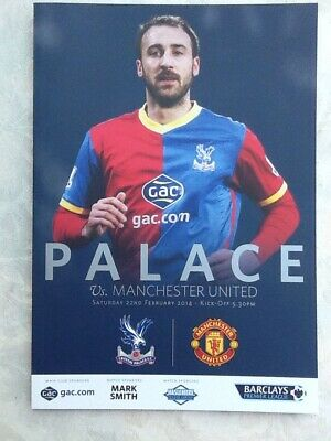2013/14 - Crystal Palace V Manchester Utd - Barclays Premier League - 22.02.2014