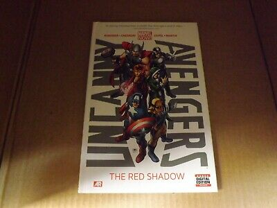 Marvel Now Uncanny Avengers Volume 1 HC Red Shadow (Signed by Remender & Coipel)