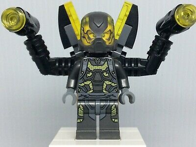LEGO Marvel Super Heroes Ant-Man sh189 Yellow Jacket Minifigure from 76039