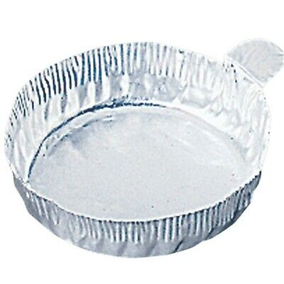 Disposable Aluminum 2Oz Weighing Dish With Fluted Sides 57Mm X 14Mm 100/Pk New