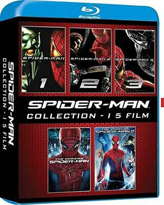 COFANETTO BOX SPIDERMAN Collection - 5 BluRay / Italiano - English - Espanol