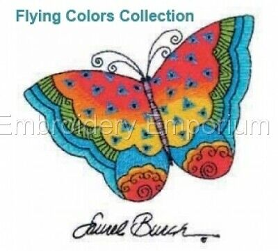 Flying Colors Collection - Machine Embroidery Designs On Cd Or Usb
