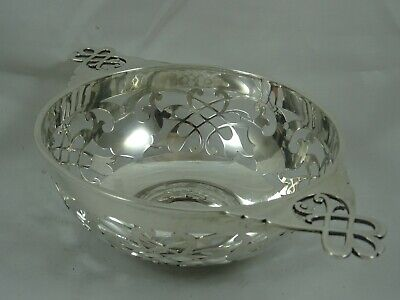 PRETTY solid silver SWEET BOWL, 1920, 212gm