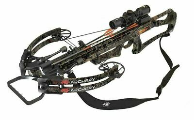 New PSE RDX 400 Crossbow Scope Package Mossy Oak Country Camo Model # 01275CY
