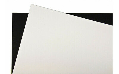 A1 Mounting Board - White / Black - 5 10 20 25 50 Sheets
