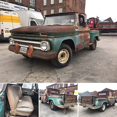 American chevrolet C10 V8 pickup truck  project awesome patina uk v5 in hand