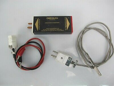 Omega CJ Cold Junction Compensator with Thermocouple