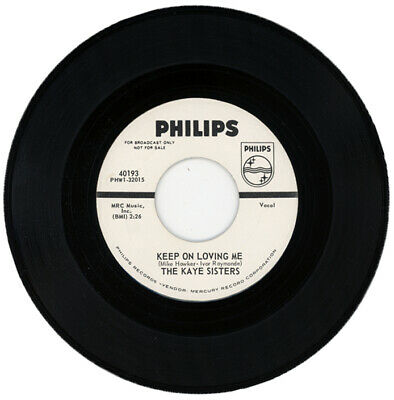 "The Kaye Sisters  ""Keep On Loving Me""   Demo     Northern Soul"