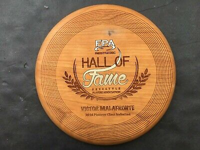 FPA Freestyle Frisbee Hall of Fame Pioneer Class Victor Malafronte (vmfris002)