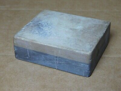 "Vintage Belgian Coticule sharpening stone 2 3/4"" x 2 5/16"" x 15/16"""