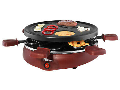 6 Personen Raclette Partygrill, Wrapmaker Pancake Crepes Crepesmaker Spiegelei