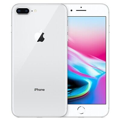 Apple Iphone 8 Plus Silver 256 Gb Sealed Grade A++ No Scratches No Usury As New