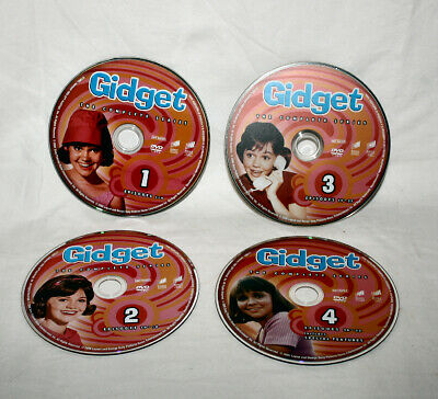 GIDGET DVD SET of 4 Discs Sally Field Complete Series Vintage 1965 TV Show Rare