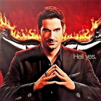 FOX LUCIFER Season 3 Promotional Poster 11x17 2017 SDCC San Diego Comic Con