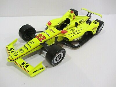2019 SIMON PAGENAUD signed 1:18 MENARDS INDIANAPOLIS 500 DIECAST INDY CAR CHEVY