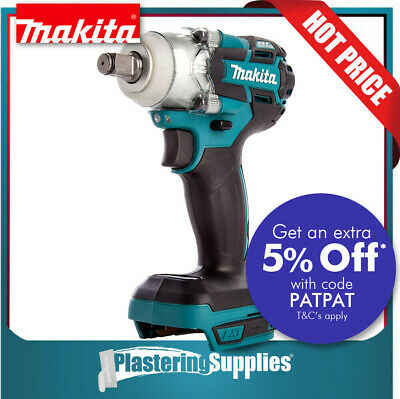 """Makita Impact Wrench Cordless 1/2"""" 18v Li-Ion DTW285Z TOOL ONLY"""