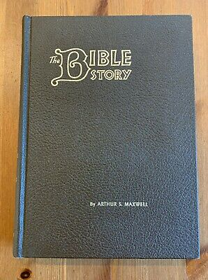 The Bible Story HC Brown Vol 9 & 10 1957 Arthur S. Maxwell Pacific Press Vintage