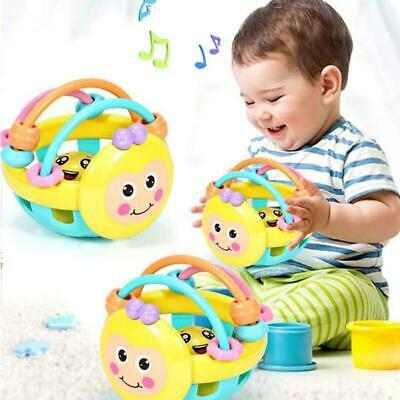 Baby Educational Toys Infant Rattle Ball Grasping Activity Toy Bendy Ball LJ