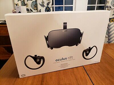 Oculus Rift 3010009501 VR Headset with Touch Motion Controllers Virtual Reality