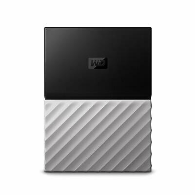WD My Passport Ultra 3TB Black/Gray Portable Hard Drive by Western Digital