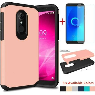 FOR ALCATEL TCL LX/1X Evolve/Ideal XTRA Shockproof Slim TPU Case+