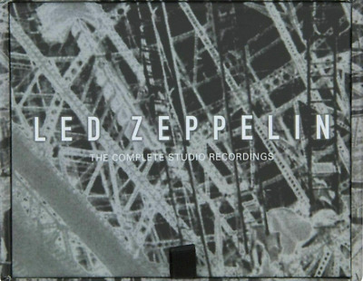 Complete Studio Recordings Led Zeppelin 10 CD Box Set New Sealed Free Shipping