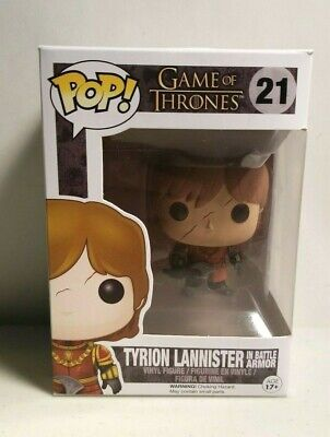 Funko Pop:  Game of Thrones - Tyrion Lannister - in battle armor (NEW,#21)