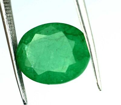 8.65 Ct Top Grade Natural Oval IGL Certified Green Emerald Loose Gemstone