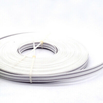 50yards Single/Double Wired Boning White Boning for Dress Corset Sewing 6mm/12mm