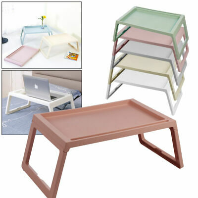 Portable Folding Laptop Desk Adjustable Computer Table Stand Tray For Sofa Bed