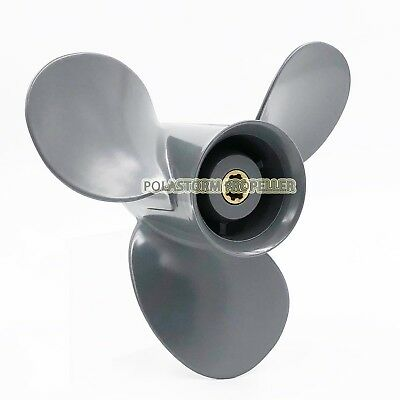 Aluminum Outboard Propeller 9 1/4x9 Pitch for HONDA Prop 8-20HP