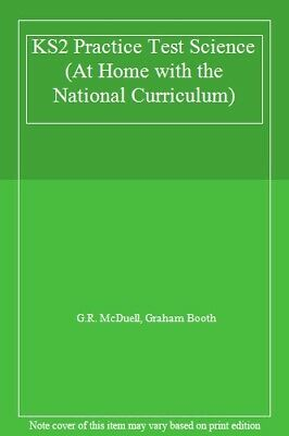 KS2 Practice Test Science (At Home with the National Curriculum) By G.R. McDuel