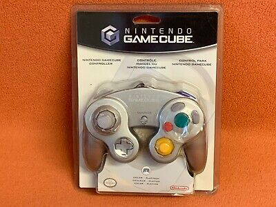 Official Nintendo OEM GameCube SEALED Platinum Controller NIB DOL-003