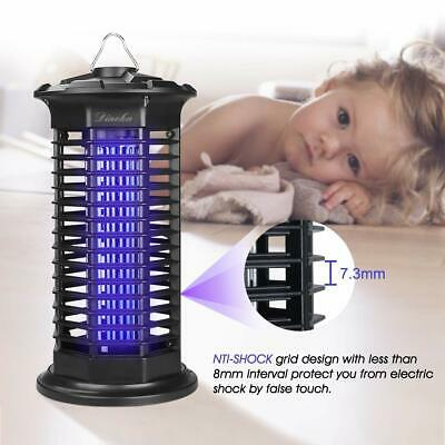 Lampe Anti Moustique UV LED Electronique Lampe Interieur Destructeur Insectes