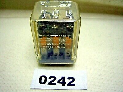 (0242) Dayton Relay 5X841F Plug In