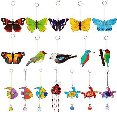 Colourful Hanging Suncatcher Kitchen Window Garden Decorative Mobile Sun Catcher