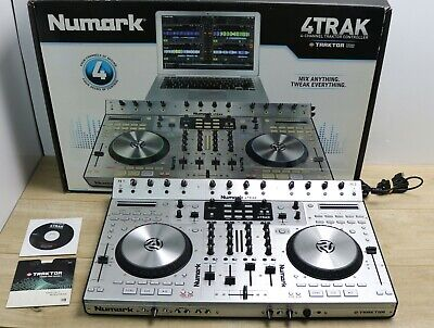 Numark 4Trak 4-Channel DJ Traktor Controller CDJ Mixer All-in-one for PC/Mac