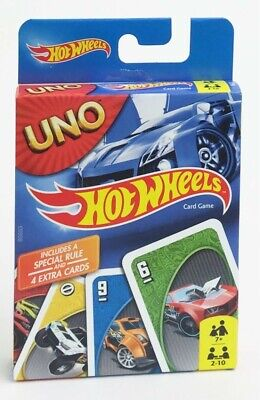 Hot Wheels Uno Card Game Edition Toy