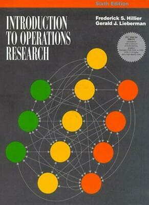 Introduction to Operations Research (Mcgraw Hill Series in Industrial Engineeri