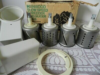 Vintage 1970/80s Slow Speed Shredder Slicer A928 for use with Kenwood Chef A901A