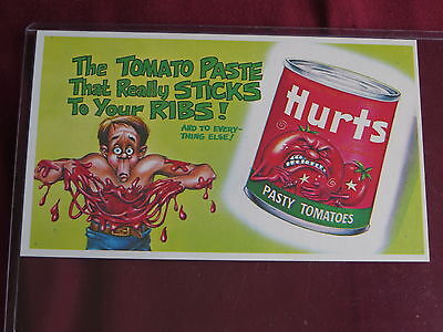 wacky ads  proof card hurts from the topps vault nrmt/mt