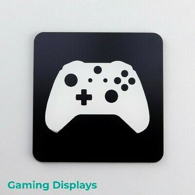 Xbox One Controller Design Coaster, Gaming Displays, Bedroom, Games Room, Dining