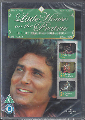 Little House On The Prairie - Official DVD Collection Part 8 - NEW & SEALED