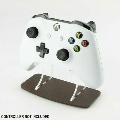 Dark Wood Effect Xbox One Controller Stand, Gaming Displays, Acrylic, Games Room