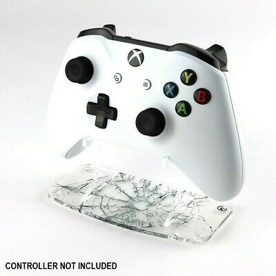 Shattered Glass Effect Xbox One Printed Clear Acrylic Controller Display Stand