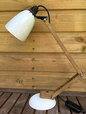 Vintage Maclamp No.8 Terence Conran HABITAT Industrial Anglepoise Light Lamp 70s