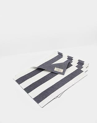 Joules Galley Grade Set Of Four Placemats in FRENCH NAVY in One Size